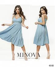 Сукня №2177-блакитний блакитний/42