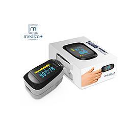 Пульсоксиметр на палец для измерения пульса и сатурации крови MEDICA+ CARDIO CONTROL 7.0 White