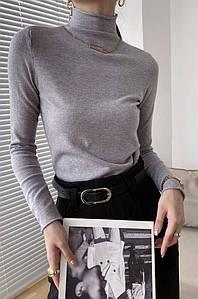 Свитер женский серый TRG 132560P