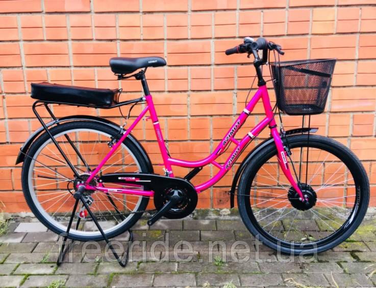 """Дорожный велосипед Azimut New Retro 26"""" 21S (18 рама)"""