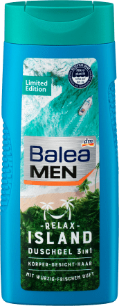 Гель для душа BALEA Men Duschgel 3in1 Relax Island 300мл