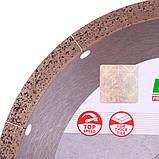Диск алмазний відрізний Distar HARD CERAMICS ADVANCED 250x25,4 кераміка, мармур, керамограніт 11120349019, фото 3