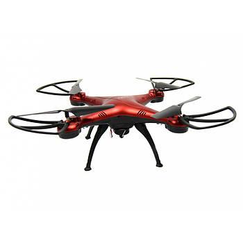 Квадрокоптер 1million c WiFi камерой Красный