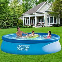 Intex 28143, надувной бассейн Easy Set 396 х 84 см