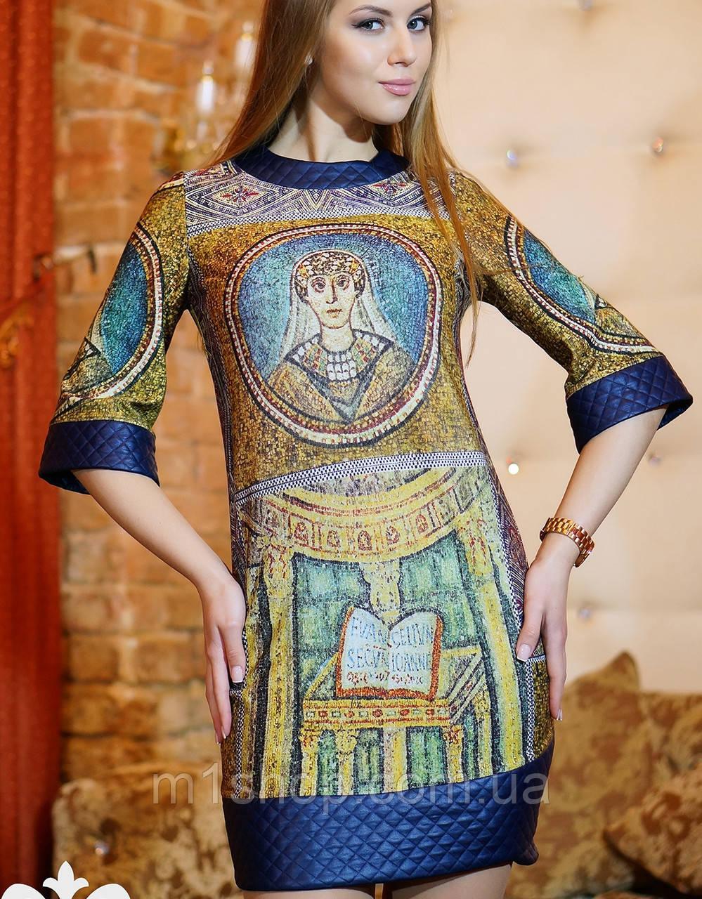 Платье-туника | Венеция 2 lzn