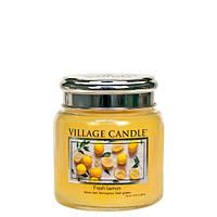 Свеча Village Candle Свежий лимон 389г время горения до 105 часов, КОД: 2453217