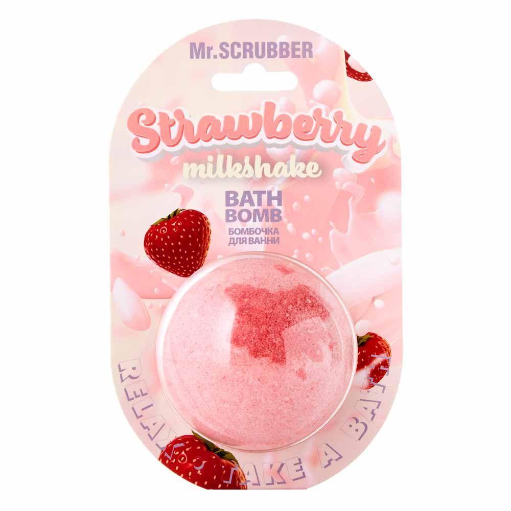 Бомба для ванни Strawberry Milkshake Mr.Смуги навігації 200 г