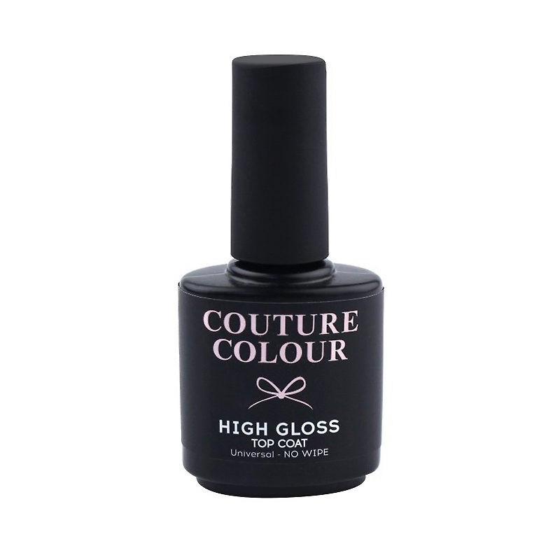 Закріплювач для гель-лаку без липкого шару Couture color Higt Gloss Top Coat No Wipe 15 мл
