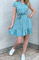 Літня сукня жіноча з коротким рукавом