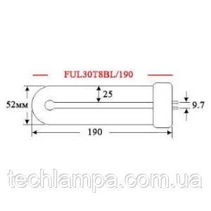Лампа инсектицидная FUL30T8BL/190
