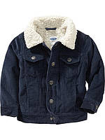 Демисезонная курточка с меховой подкладкой на мальчика Old Navy