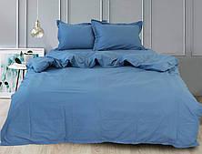 Комплект постельного белья из сатина, семейный Blue Grey