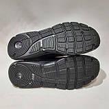 Мужские текстильные мокасины слипоны Puma (реплика) без шнурков Черные, фото 8