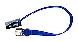 Нашийник (нейлон) синій 25мм/60см для собак КР1071-05, фото 3