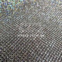 Стразовое термополотно, колір Crystal (ss6) відрізок 1*24см