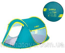 Двухместная туристическая Палатка автомат Bestway 68086