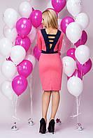Нарядное женское платье с красиво оформленой спинкой, фото 1