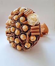 Букет из конфет / букет сладостей / конфетный букет Мое золотце сладкий вкусный шоколадный подарок
