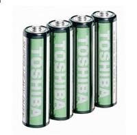 Батарейка Toshiba 1,5V R3, ААA щелочная, цена за 4 шт.