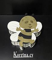 Подарочная коробка Пчела, для упаковки подарков