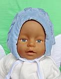 Шапочка для новорожденного, фото 4