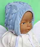 Шапочка для новорожденного, фото 2