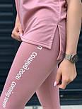 Костюм жіночий двійка з лосинами і футболкою, фото 6