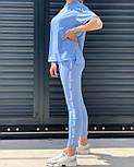 Костюм жіночий двійка з лосинами і футболкою, фото 7