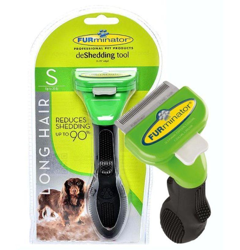 Фурминатор | Расческа для вычесывания шерсти малых пород собак Deshedding tool Small dog 4,5 см