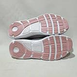 Підліткові текстильні сліпони мокасини Puma Репліка для дівчаток без шнурків Світло-сірі, фото 8