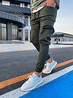 Брюки карго мужские штаны Marco Хаки Спортивные Под рубашку Футболку Свитшот На резинке внизу Для мужчин