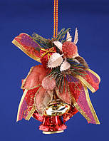 Подвеска - гроздь из колокольчиков , 12 см
