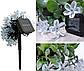 Садова гірлянда на сонячній батареї Квітуча вишня, багатобарвний, 100 led, 12 метрів., фото 2