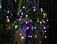 Садова гірлянда на сонячній батареї Квітуча вишня, багатобарвний, 100 led, 12 метрів., фото 3
