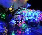 Садовая гирлянда на солнечной батарее Цветущая вишня, многоцветный, 100 led, 12 метров., фото 4