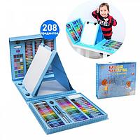 Набор для рисования и детского творчества в чемодане из 208 предметов Чемодан творчества