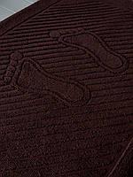 Махровое полотенце для ног кофе, 50 x 70см, Туркменистан, 700 гр\м2