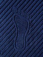 Махровое полотенце для рук темносинее, 50 x 70см, Туркменистан, 700 гр\м2