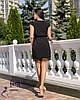 Жіноче молодіжне вільне плаття з мереживом, фото 4