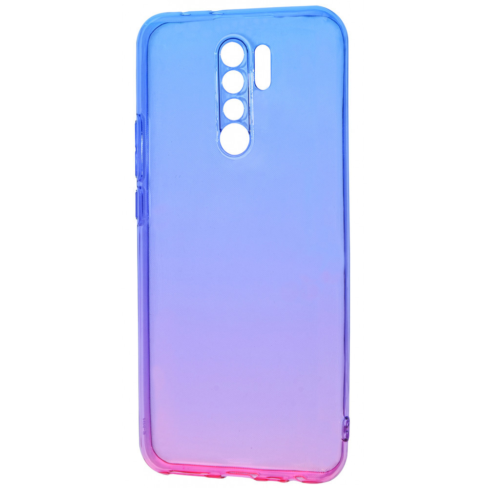 Силикон 0.5 mm Gradient Design Xiaomi Redmi 9 blue_pink