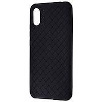 Weaving Case (TPU) Xiaomi Redmi 9A black