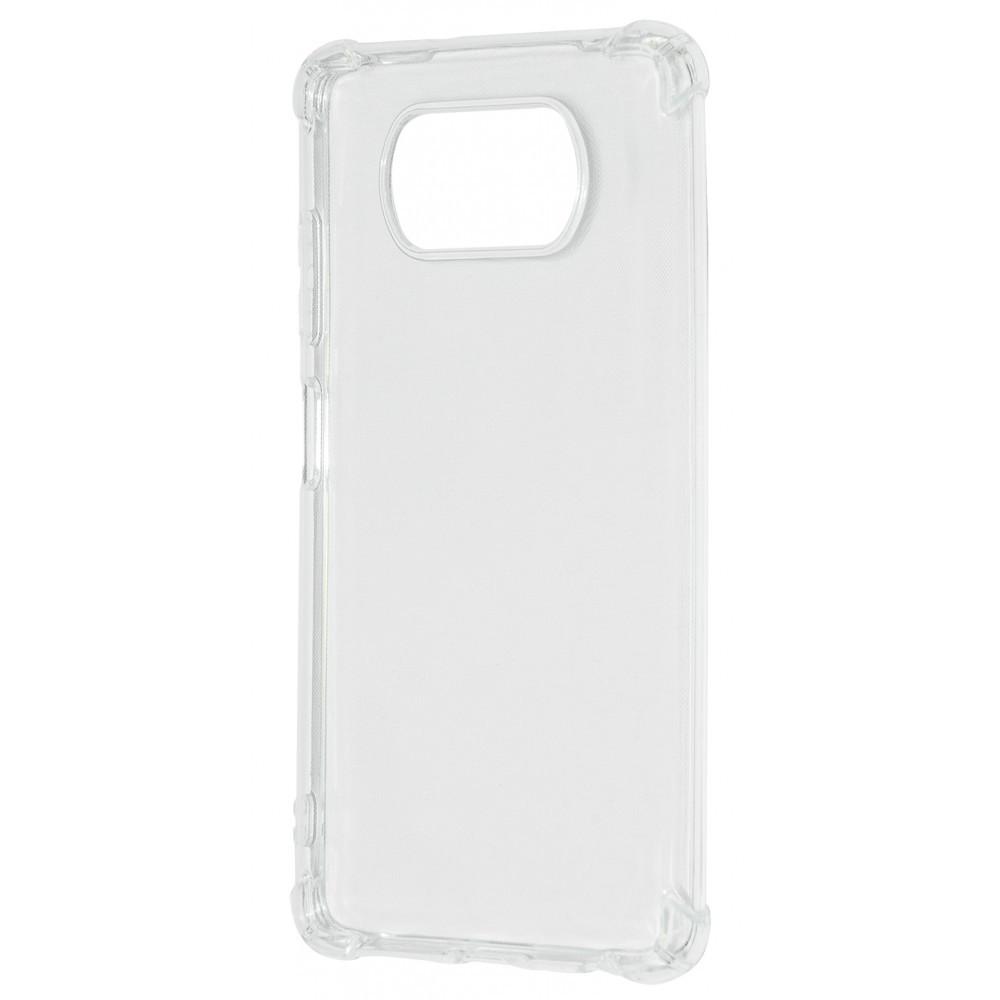 WXD Силикон 0.8 mm HQ Xiaomi Poco X3/Poco X3 Pro clear