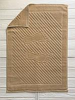 Махровое полотенце для рук ореховый, 50 x 70см, Туркменистан, 700 гр\м2