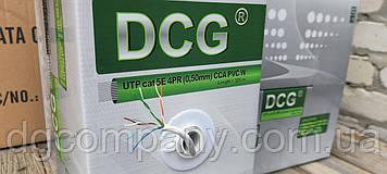 Кабель витая пара DCG UTP внутренняя 4х2х0,50(ССА), 305м