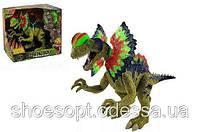 Робот Динозавр 45см ходит, свет, звук