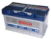 Автомобильная стартерная батарея BOSCH 6СТ-80Н 0092S40100 R+