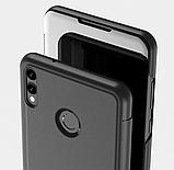 Зеркальный умный Smart чехол-книжка для Huawei Honor 9X Lite / Стекла /, фото 3
