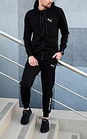 Спортивный костюм PUMA BMW Motorsport Мужской Качество LUX Реплика Черный (Размер S)