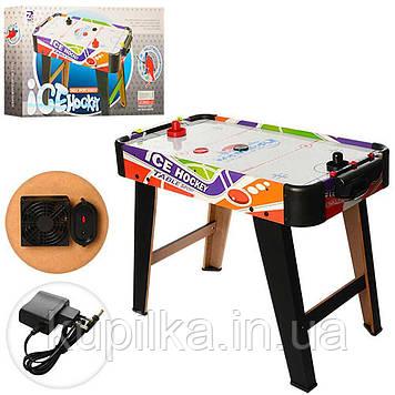Воздушный хоккей, стол на ножках для взрослых и детей, работает от сети, рассчитан на 2-4 человека ZC 3003+2