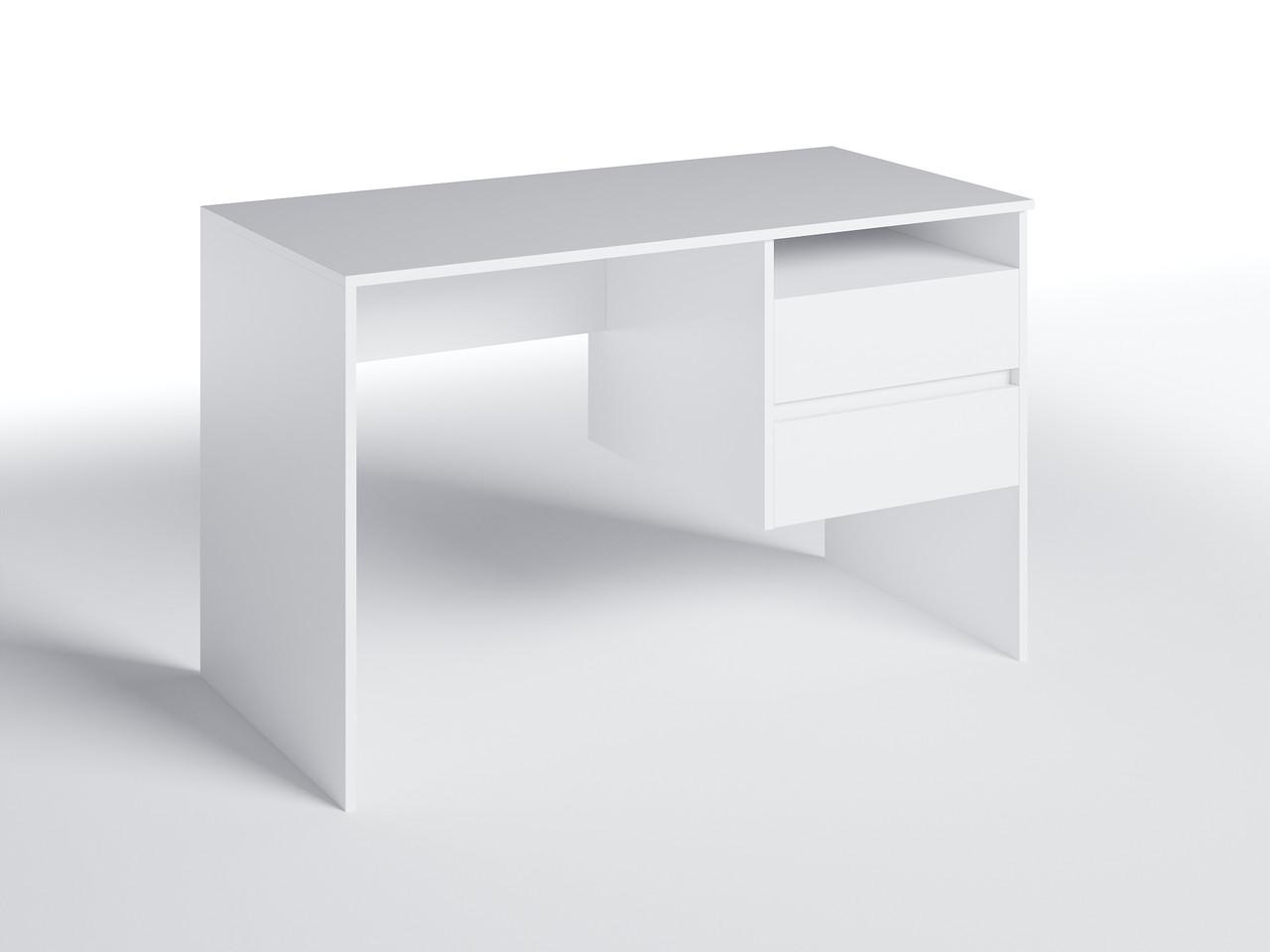 Письменный стол СП-8 с тумбой Белый